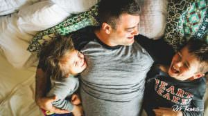 Proactive Dads Keep Working After Coming Home from Work