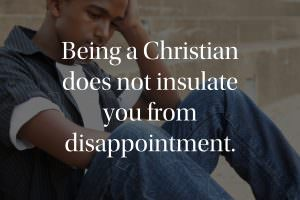 Being a Christian does not insulate you
