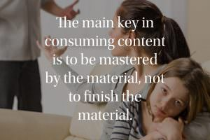 Being mastered by the material
