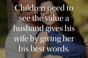 Children need to see the value