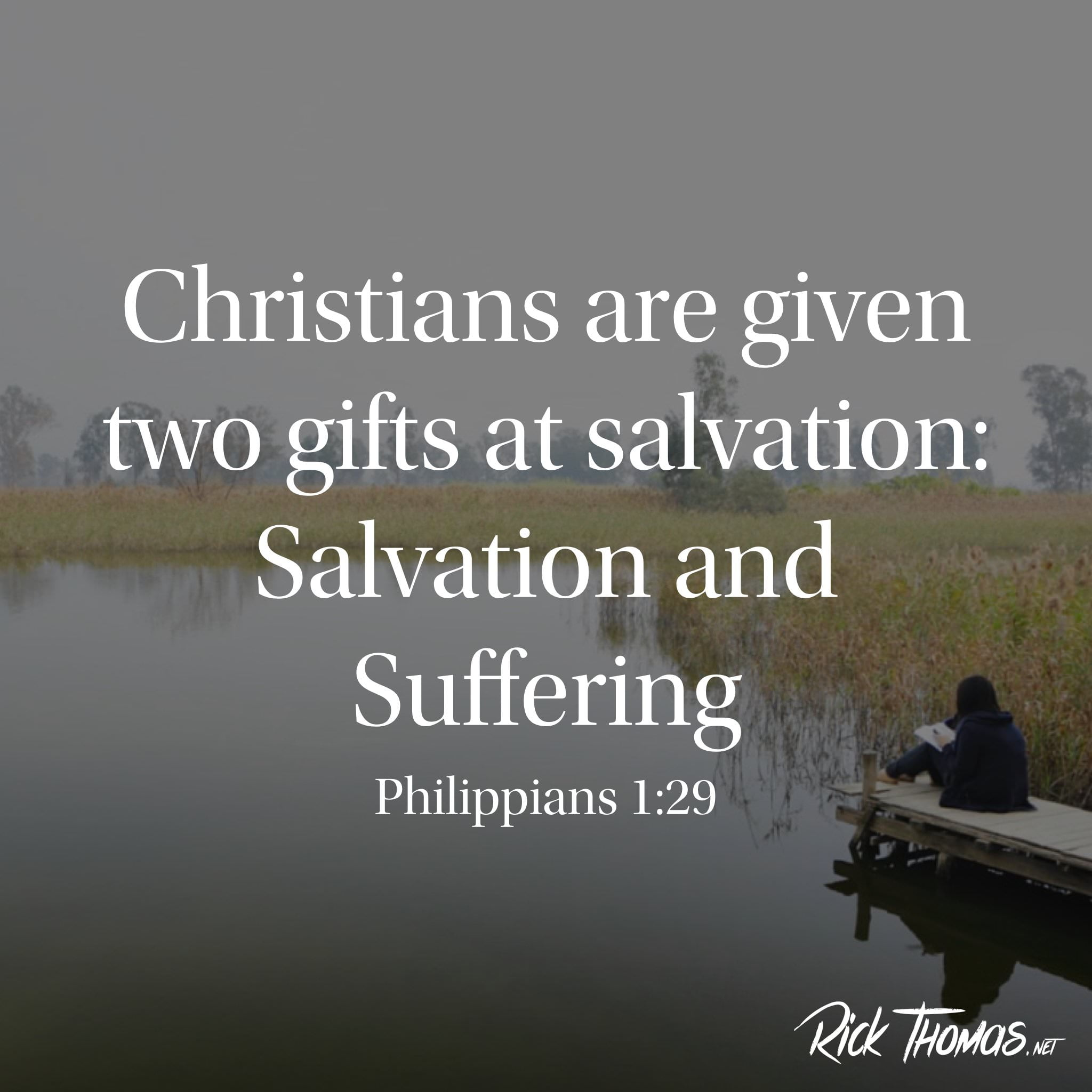 Christians are given two gifts INS.001