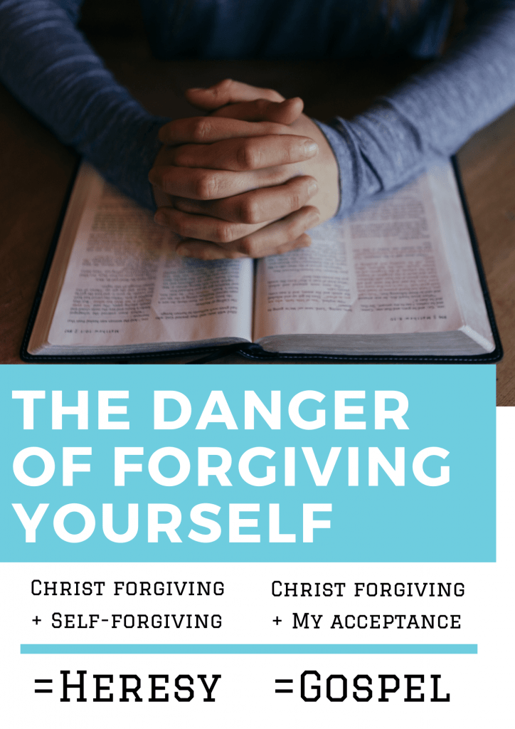 There Is a Danger When You Try to Forgive Yourself