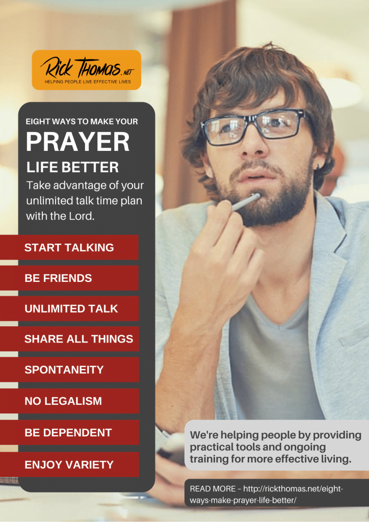 Eight Ways Better Prayer Life
