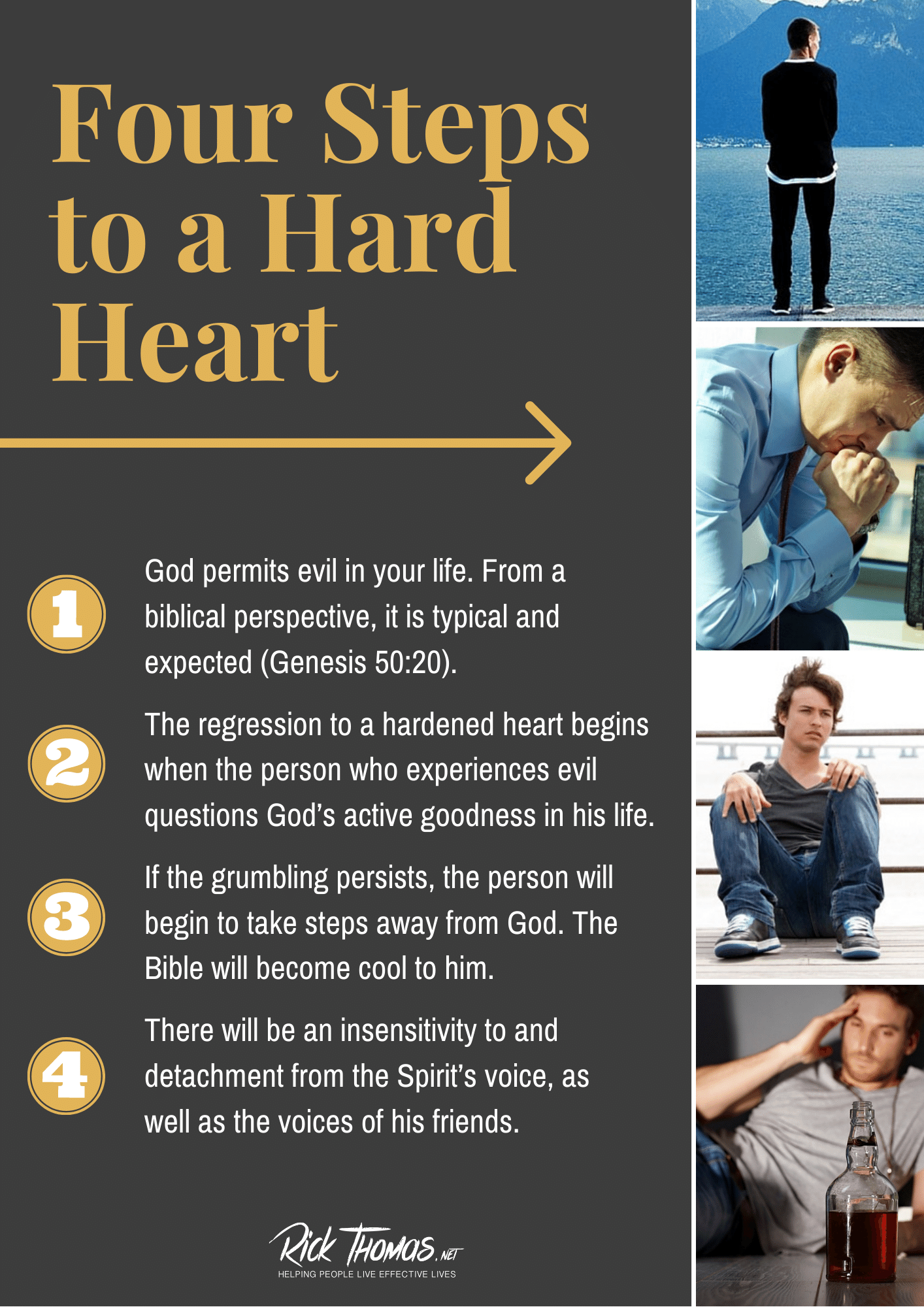 Four Steps to a Hard Heart