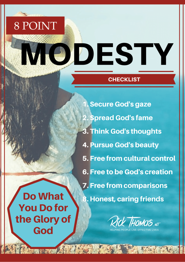 8 Point Modesty Checklist (1)