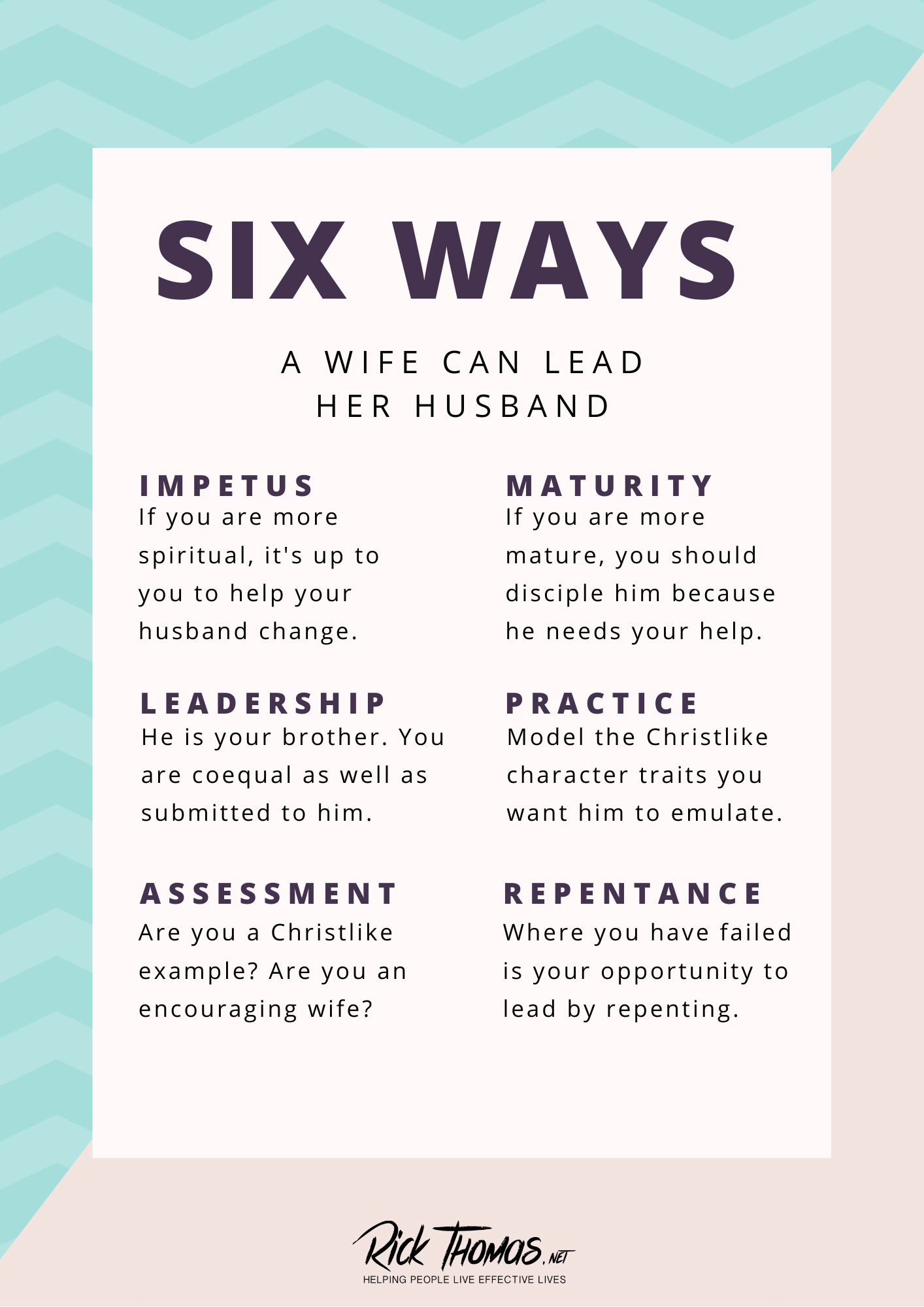 Six Ways a Wife Can Lead Her Husband