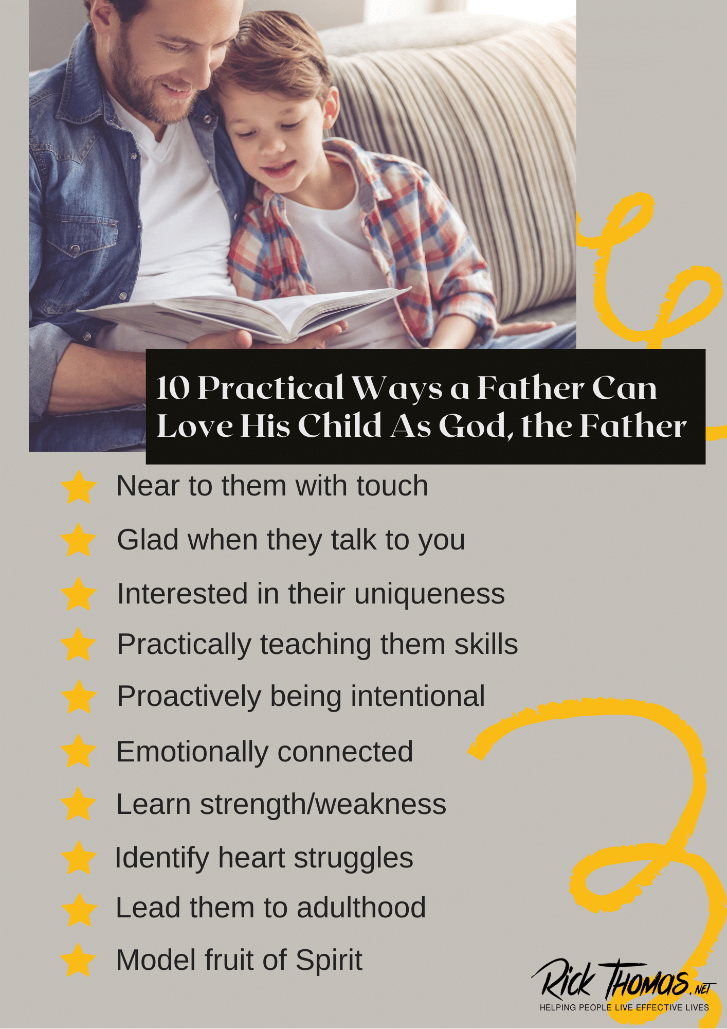 10 Practical Ways a Father Can Love His Child As God, the Father
