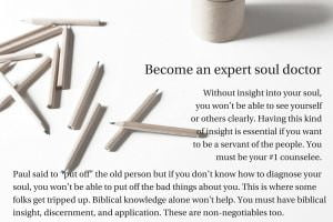 Become an expert soul doctor