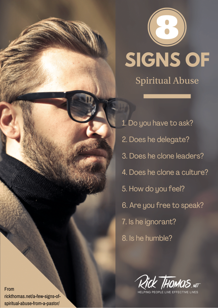 8 Signs of Spiritual Abuse