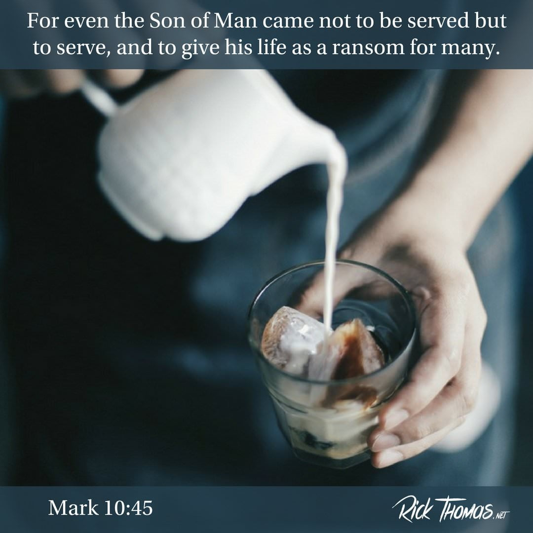 10 Verse of the Day Mark 10_45