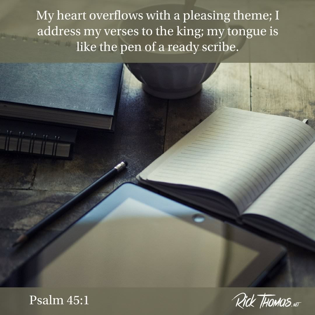 16 Verse of the Day Psalm 45_1