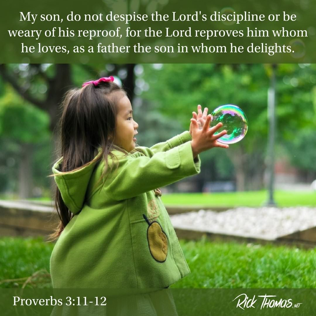 22 Verse of the Day Proverbs 3_11-12