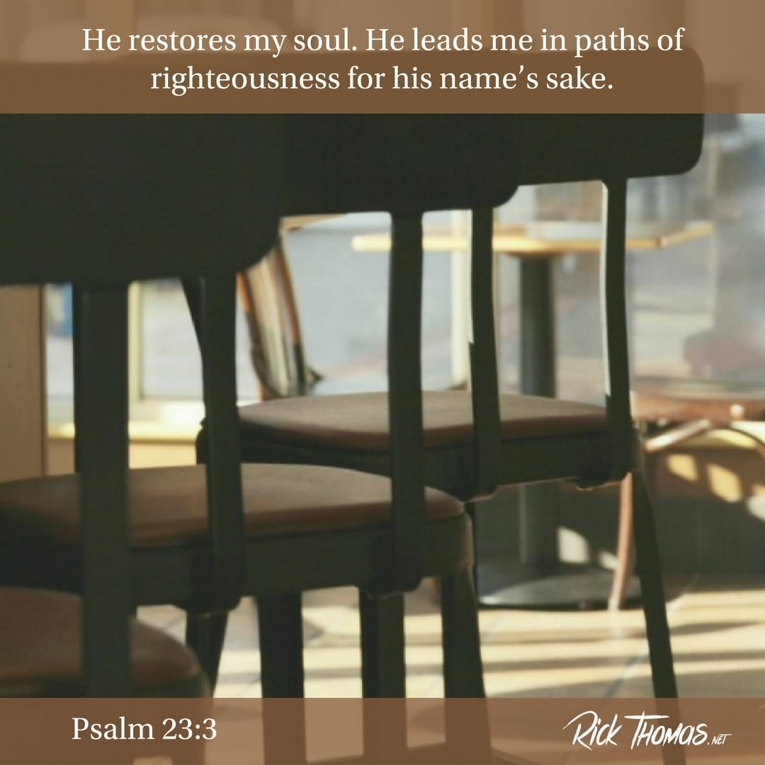 24 Verse of the Day Psalm 23_3