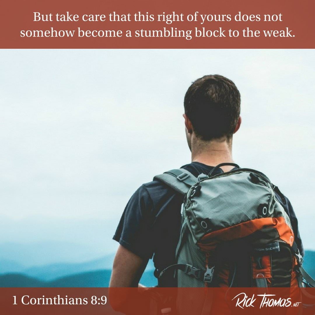 26 Verse of the Day 1 Corinthians 8_9