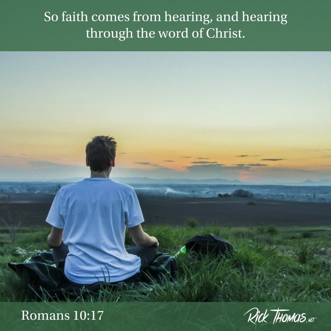 28 Verse of the Day Romans 10_17