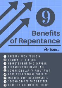 9 Benefits of Repentance