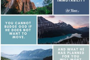 You Cannot Move God