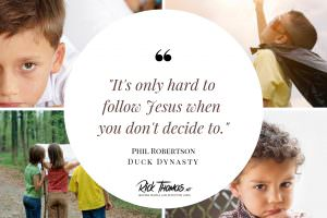 It's Only Hard to Follow Jesus