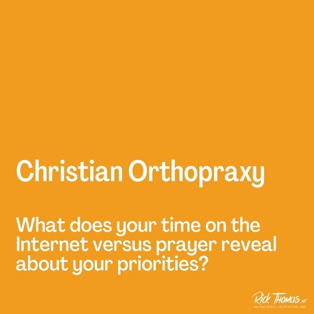 Christian Orthopraxy