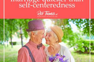 Self-Centeredness Blows Up Relationships