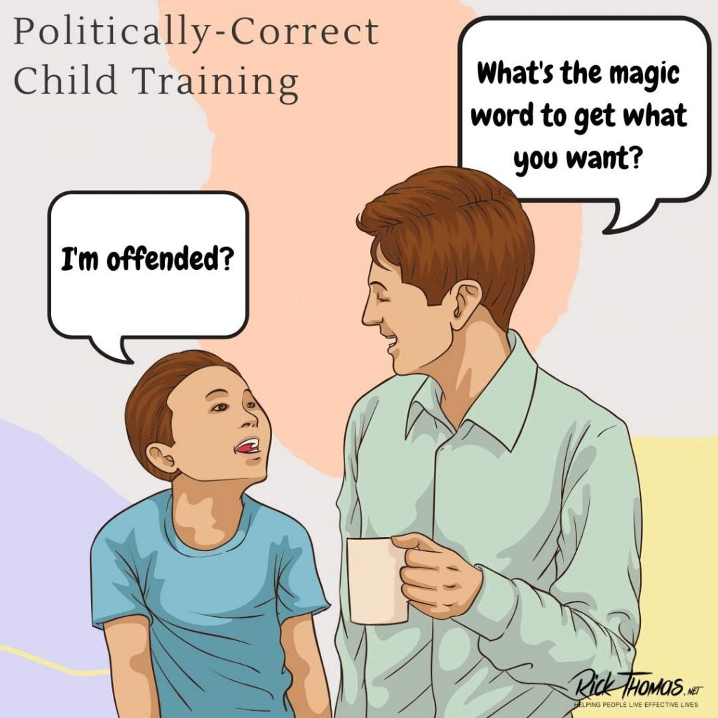 Politically-Correct Child Training