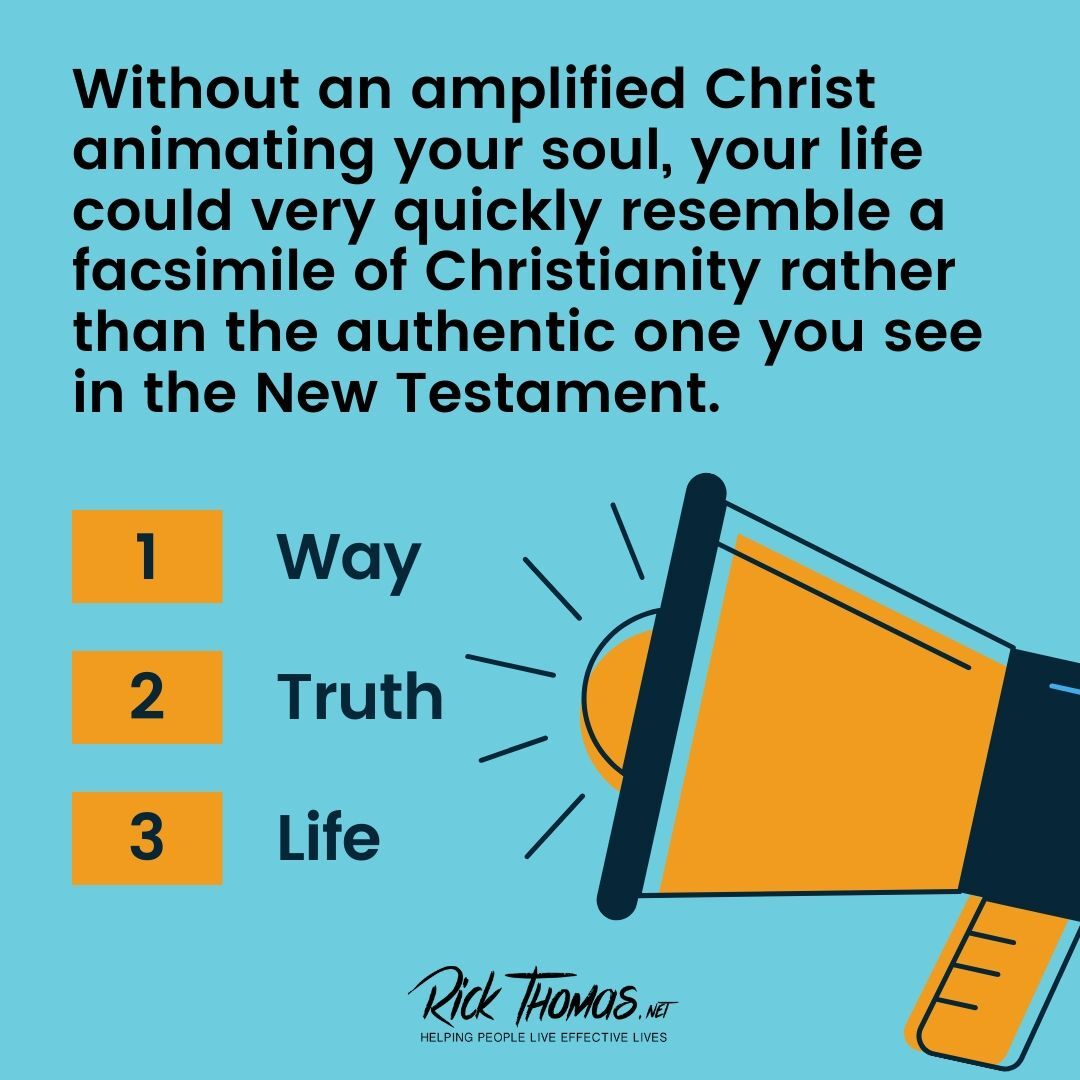 Christ  Amplified in You