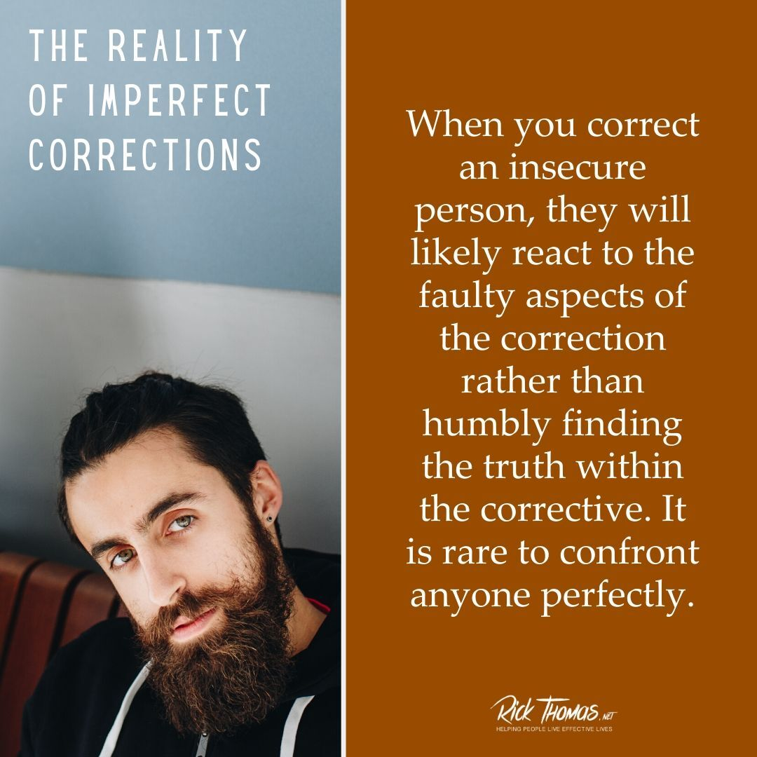 Imperfect Corrections