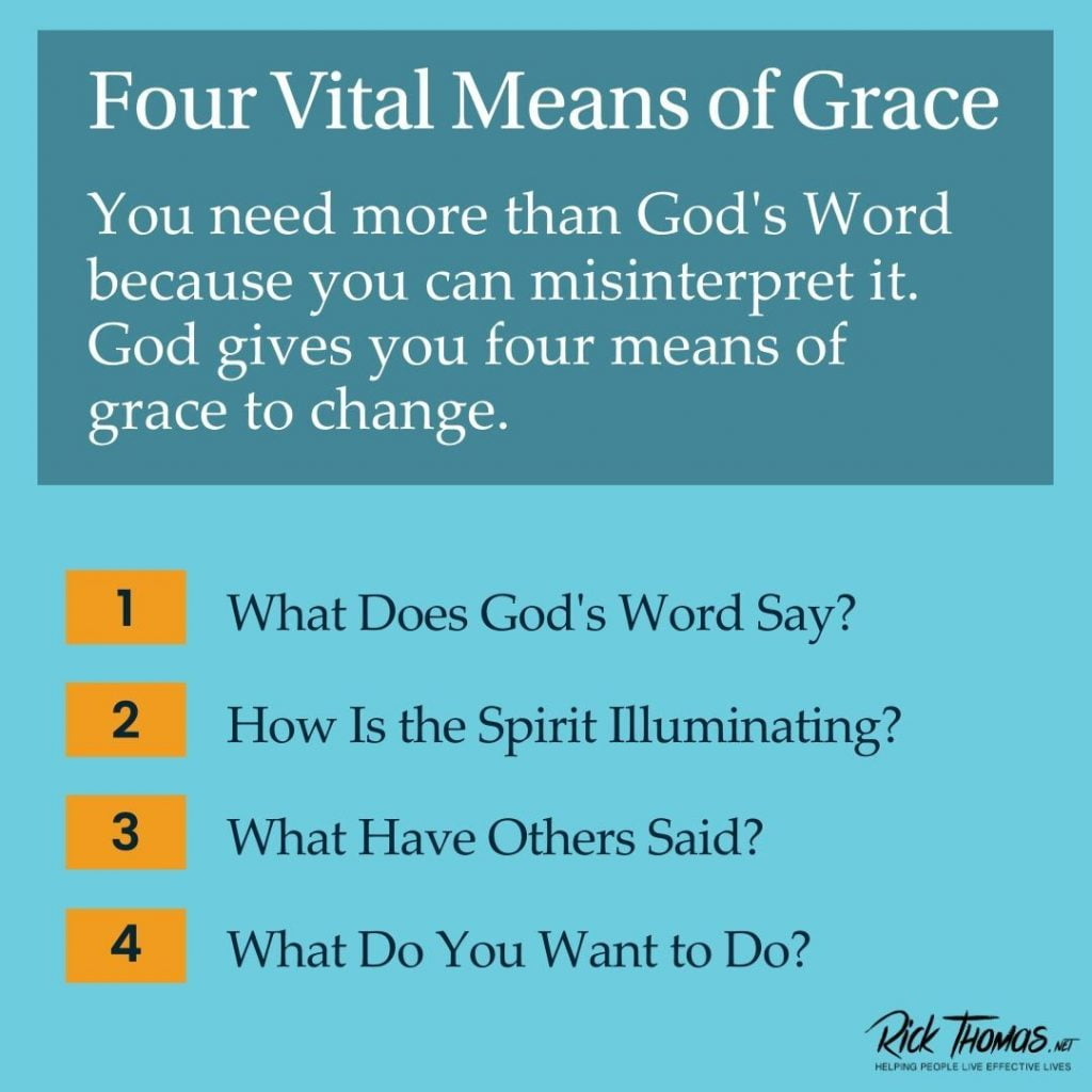 Four Vital Means of Grace