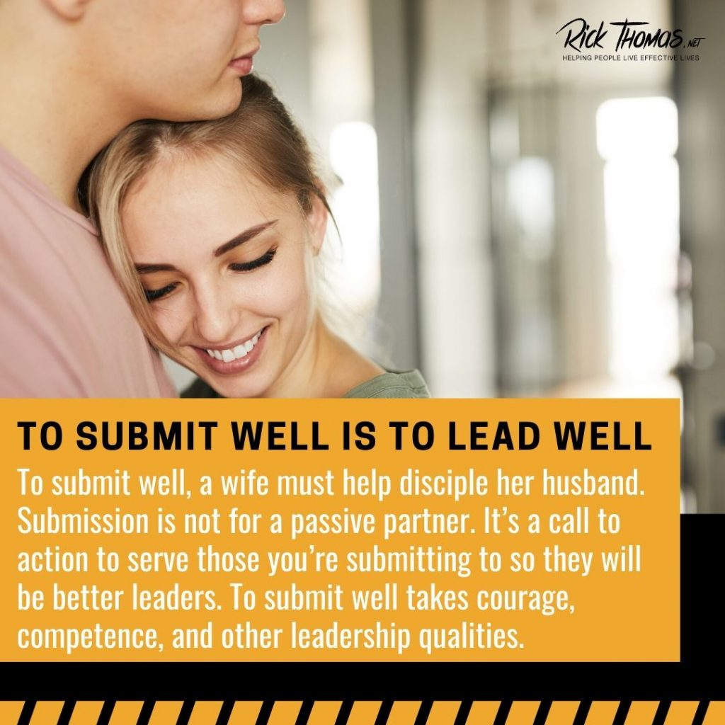 To Submit Well Is to Lead Well