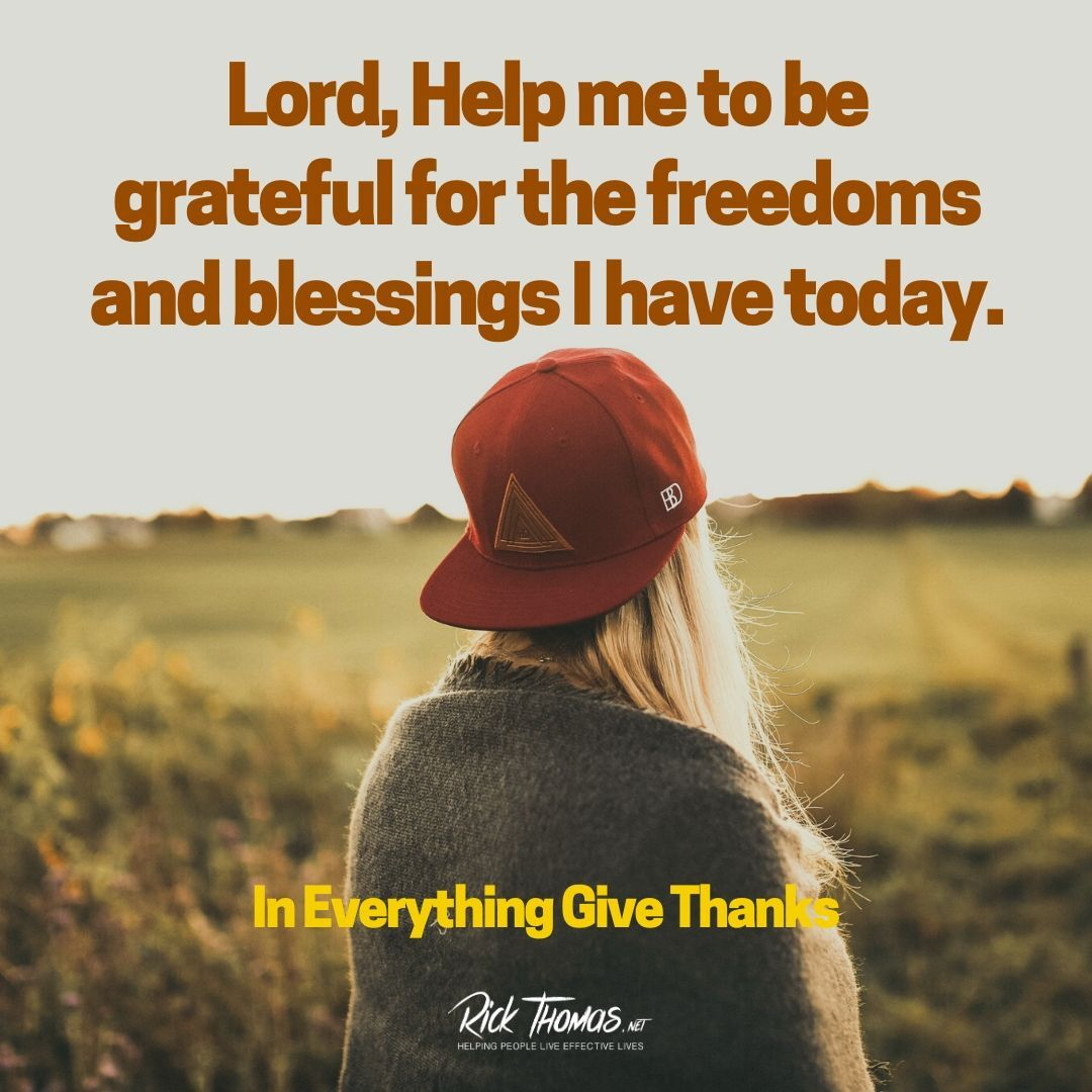 Be Grateful Today