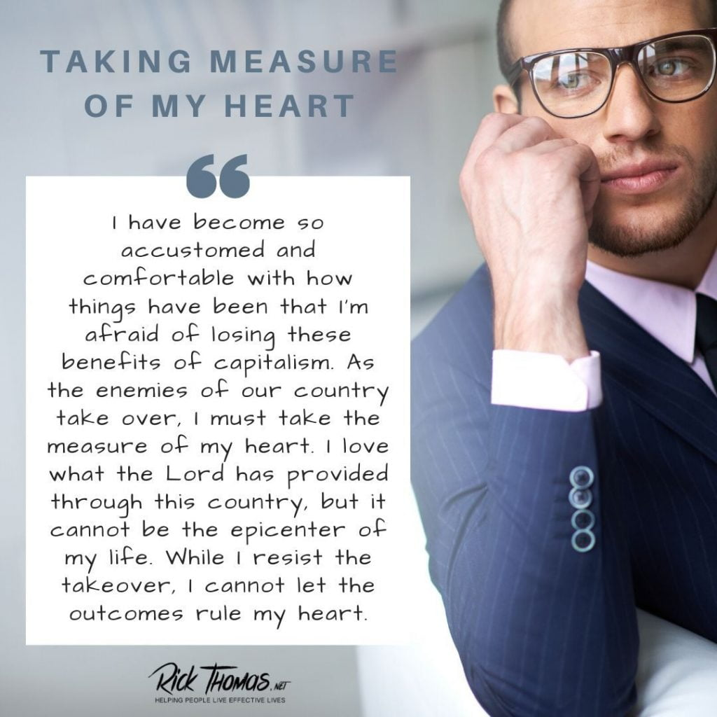 Taking Measure of My Heart