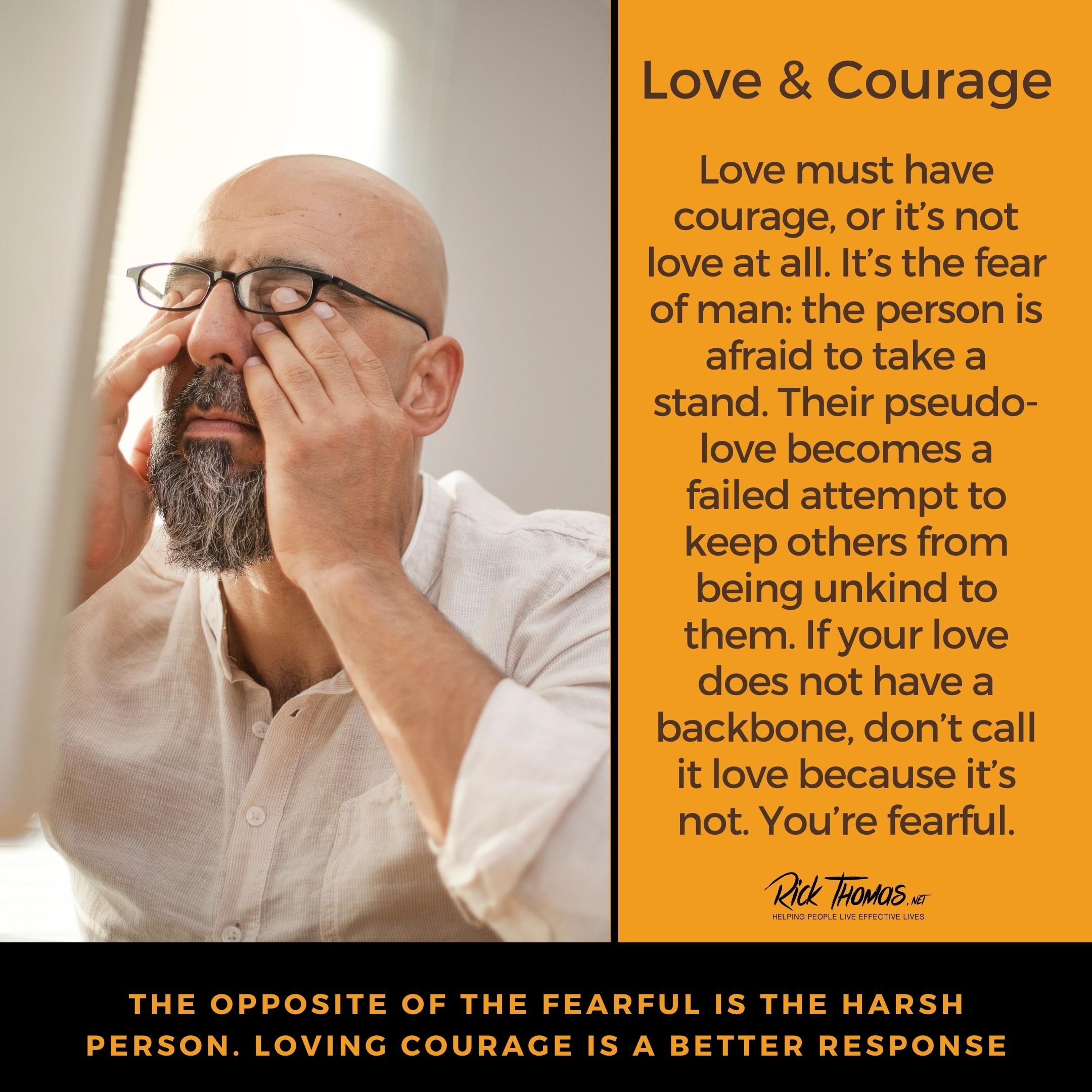 Love Is Courageous
