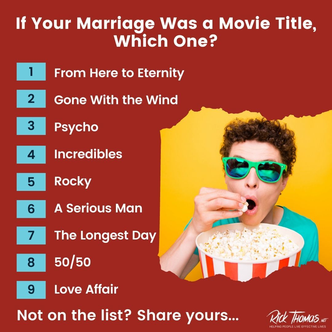 Marriage Is a Movie