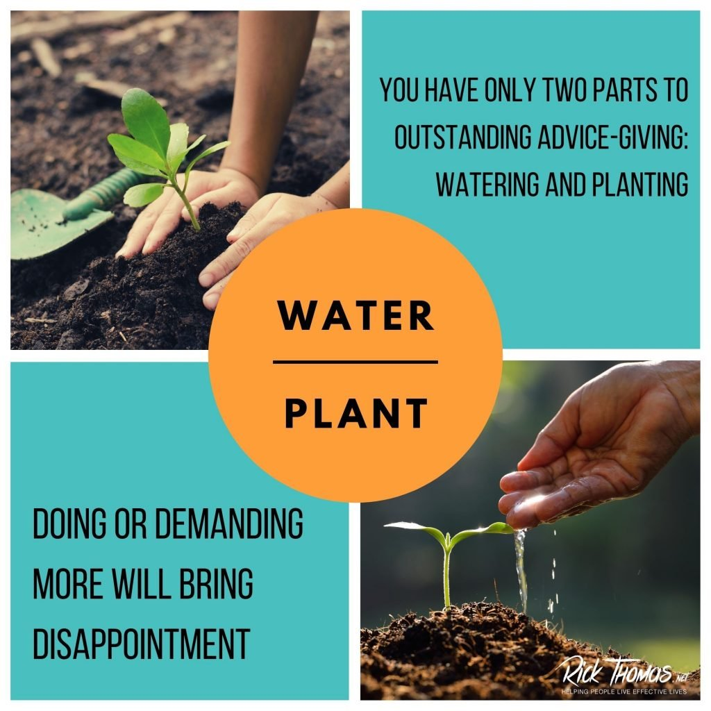 Water and Planting