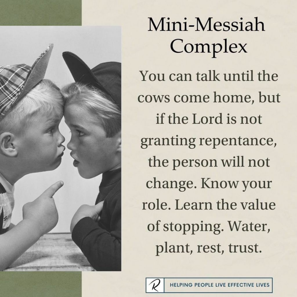 Mini-Messiah Complex