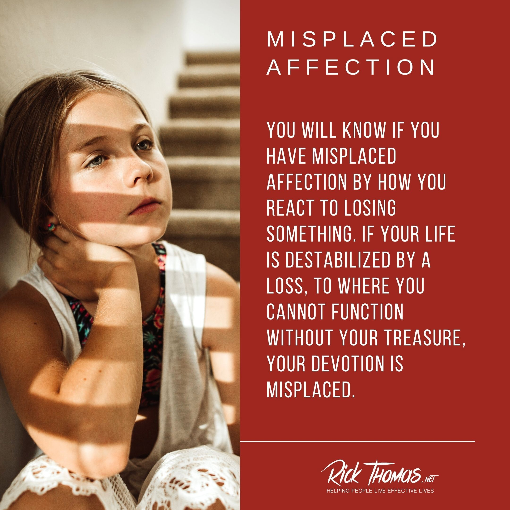Misplaced Affection