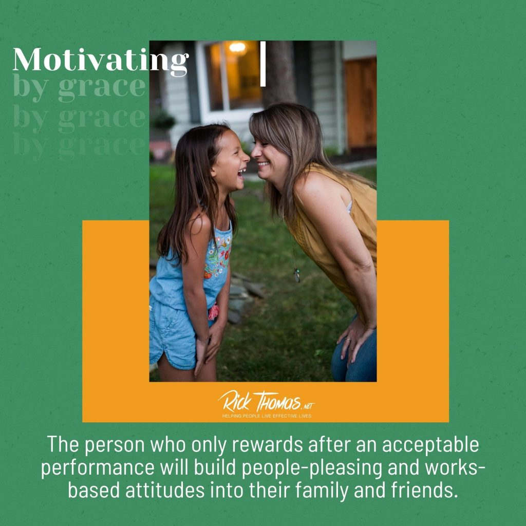 Motivating By Grace
