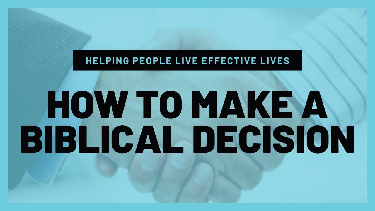 How to Make Decision