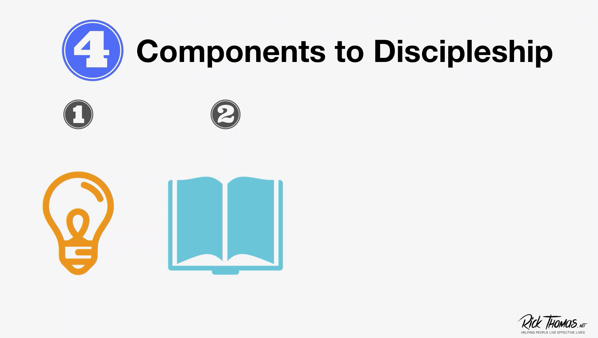Video Channel Four Components of Discipleship