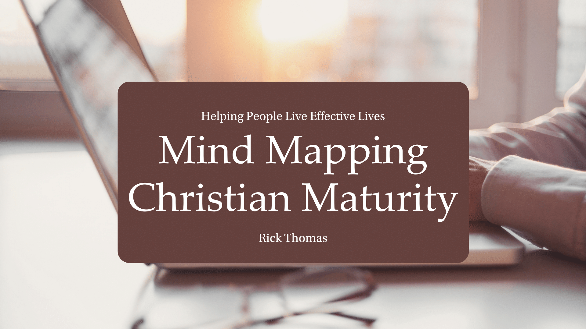 Video Channel Mind Mapping Christian Maturity
