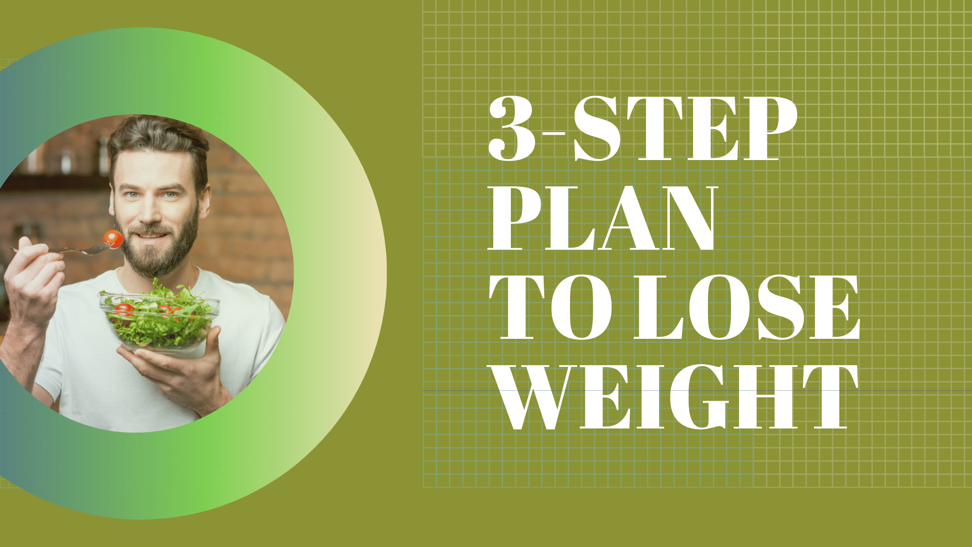 A Practical Three Step Plan to Lose Weight