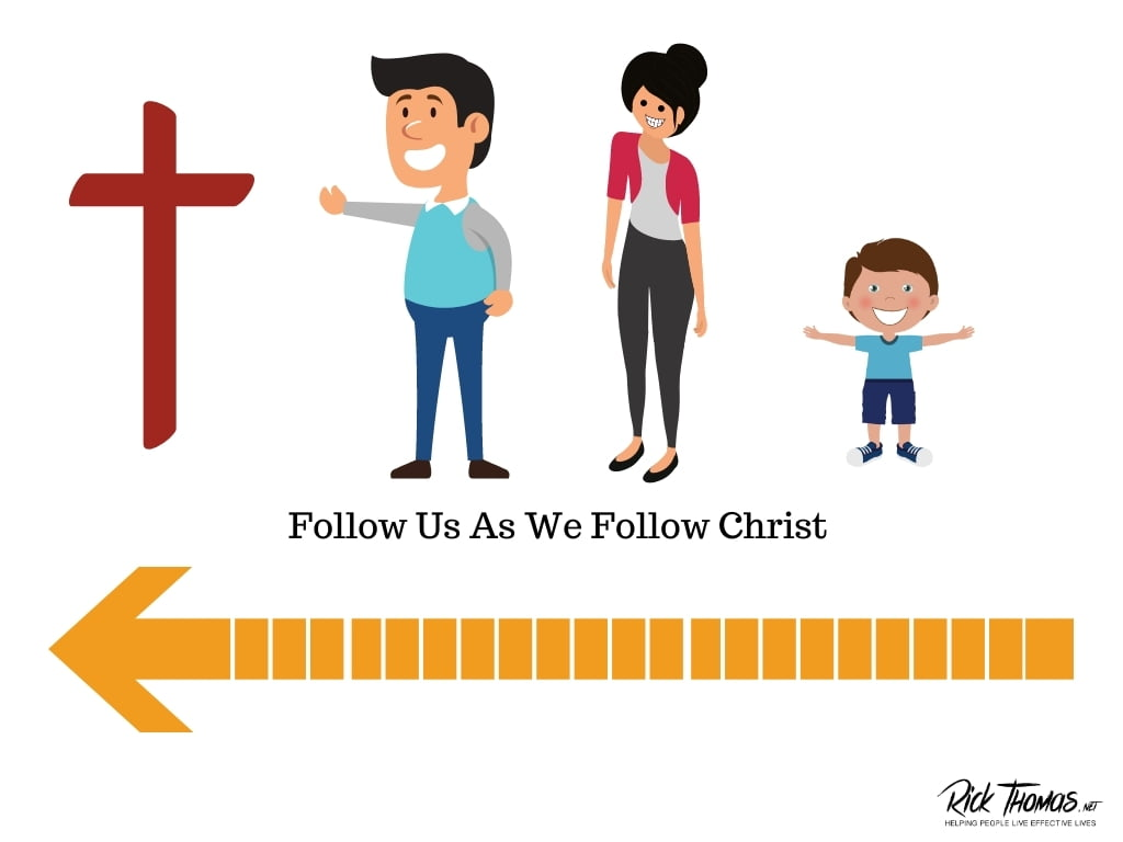 Follow us as we follow Christ