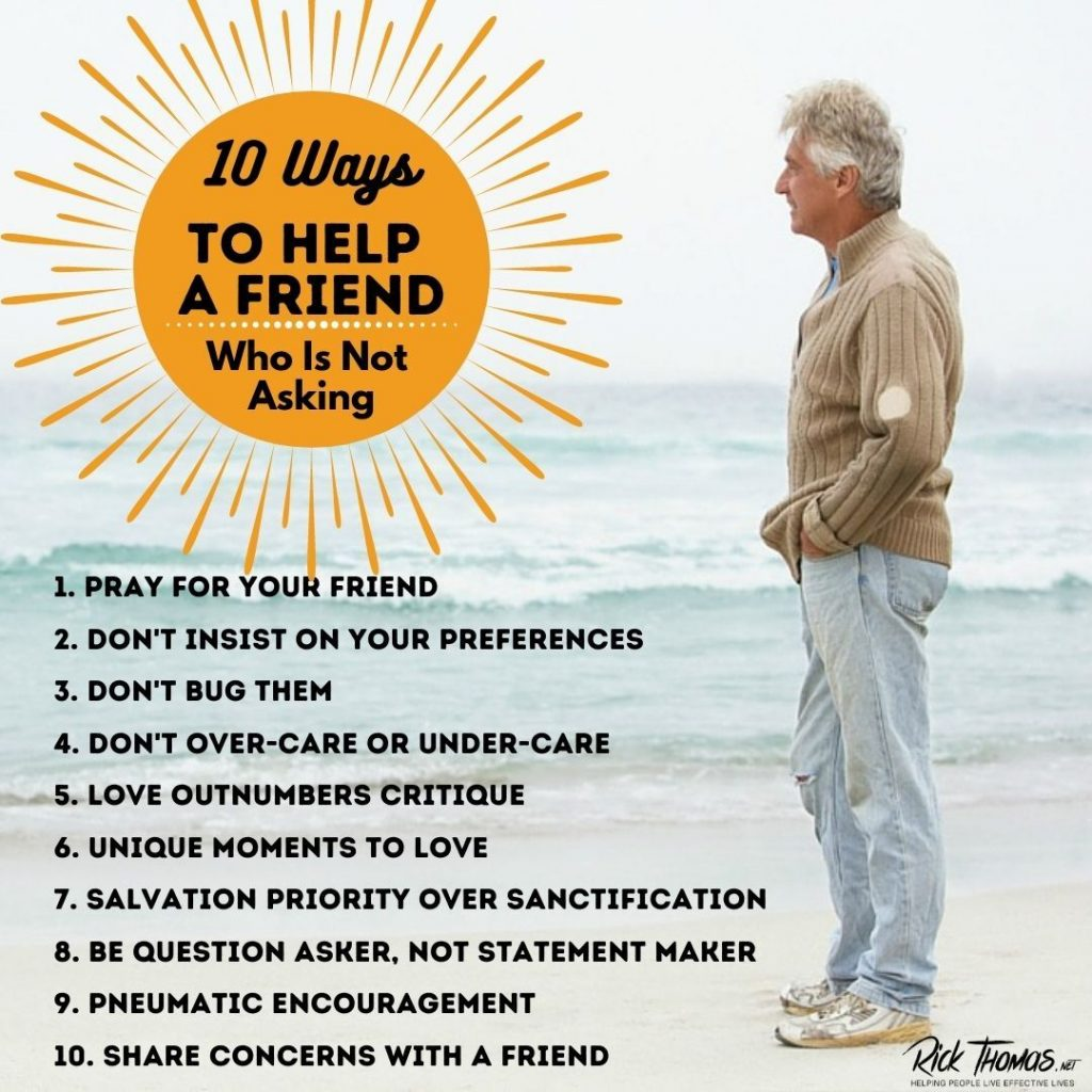 10 Ways to Help a Friend