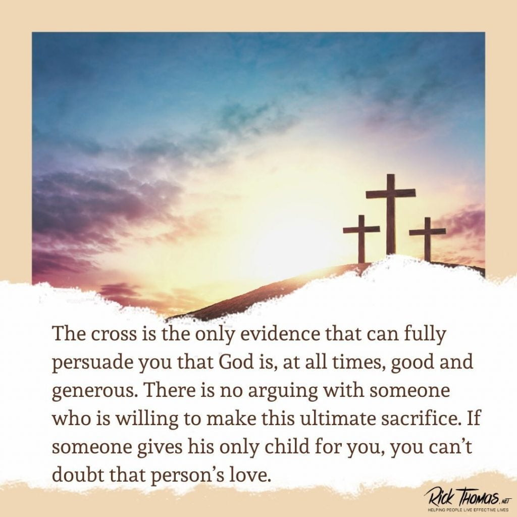 The Cross Persuades