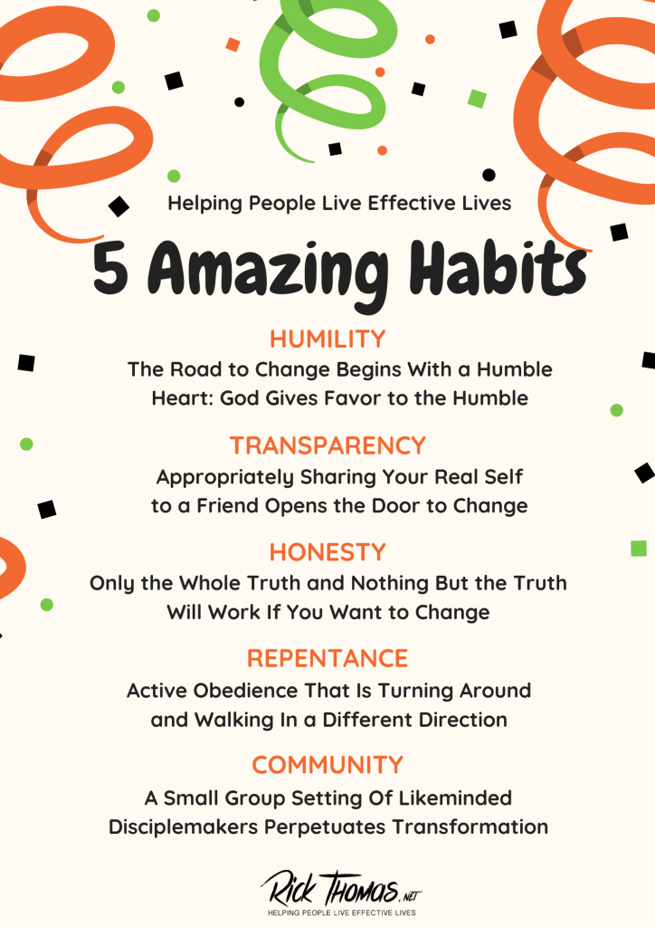 Five Amazing Habits