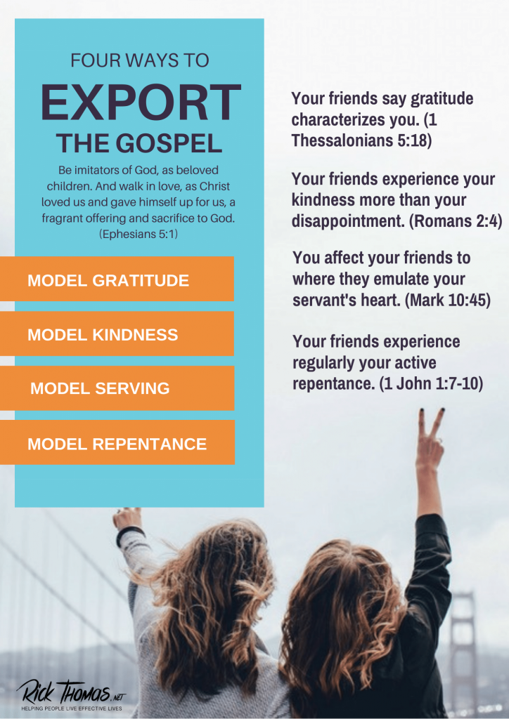 Four Ways To Export The Gospel