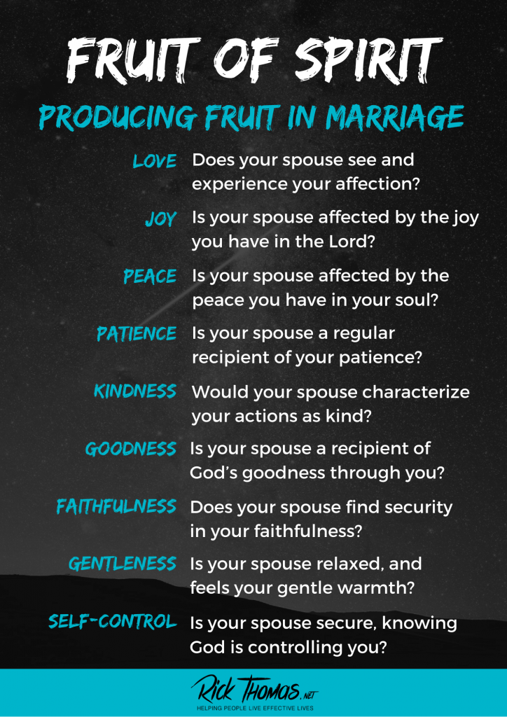 Fruit In a Marriage