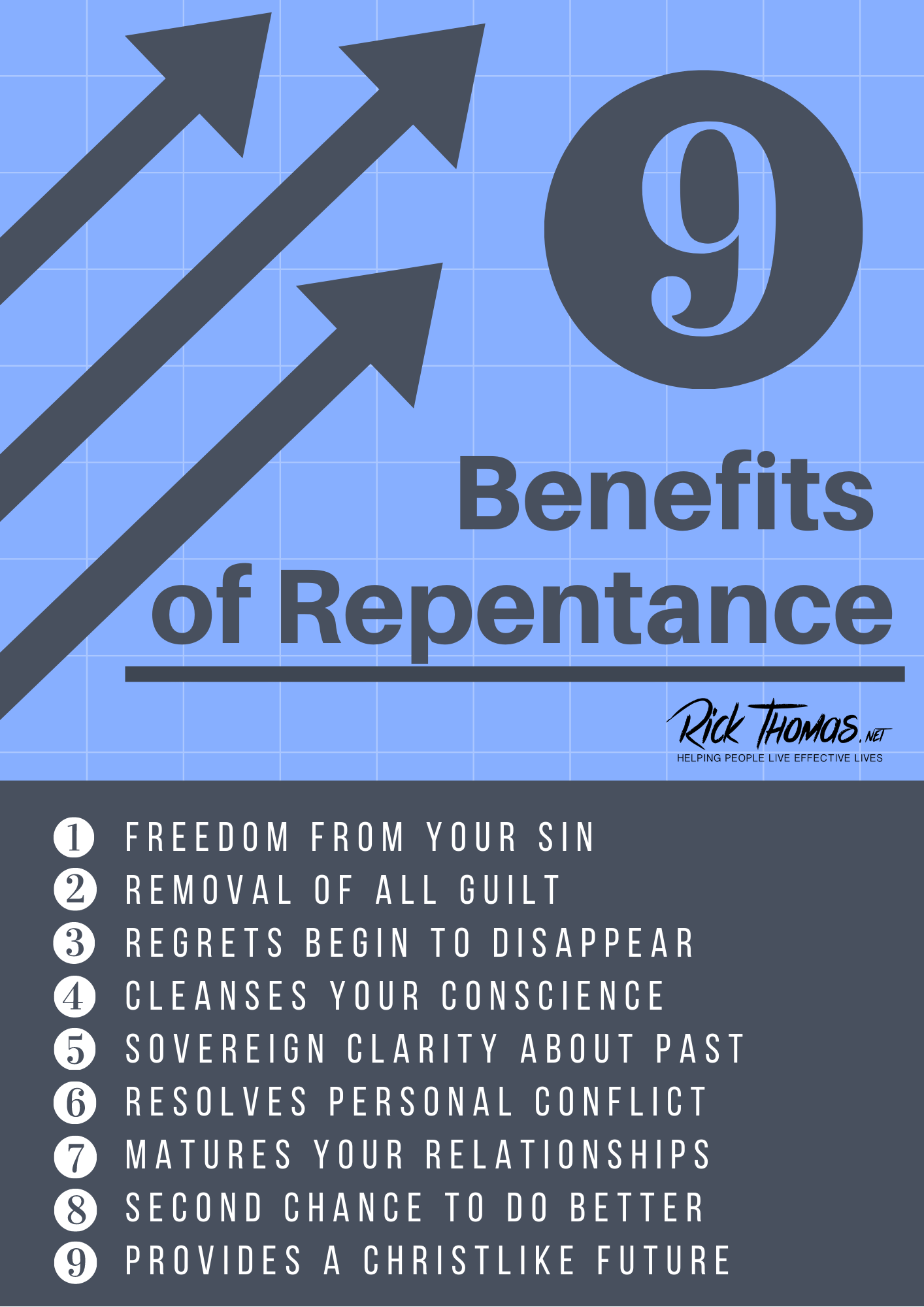 Benefits of Repentance