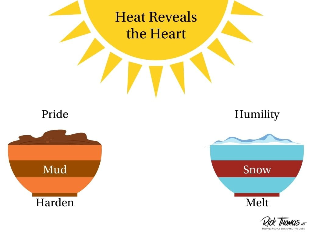 The Heat Reveals the Heart