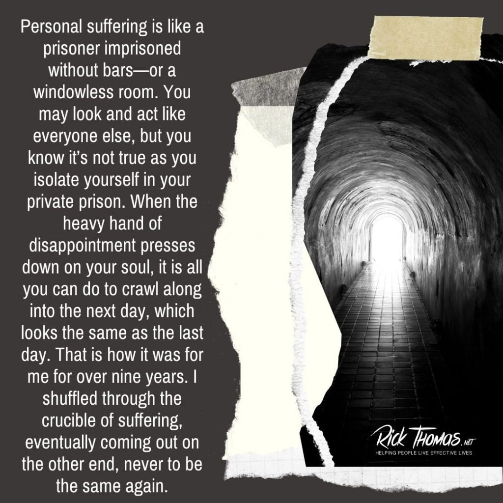 Suffering Is a Windowless Room